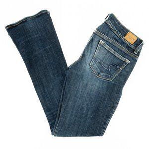 American Eagle Jeans Skinny Kick Blue Size 4 28x31